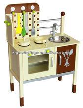 2014 New Design Pretty Polka Dot Kids Kitchen for Developing Kids Creativity