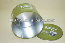 good quality round tin can for candy,candy box