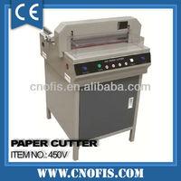 450 paper cutting machine/paper cutter/sheet cutting machine