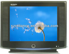 China 21inch CRT color tv with OEM brand