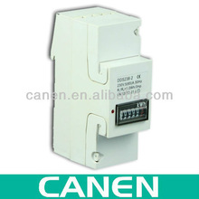240V Single-phase Din-rail Type LCD Hour Meter
