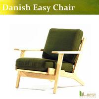 Hans J Wegner Danish Easy Chair