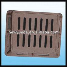 square SMC outdoor drain covers drainage cover