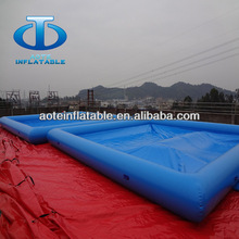 Competitive price 10x8m inflatable pool for adults
