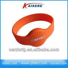 cheap price Smart rfid elastic wrist bands/chip bracelet