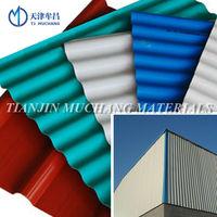Metal roofing steel roof tile zinc tile BEST METAL ROOF with international standard