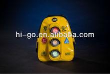 Korea style LED safety childen backpack