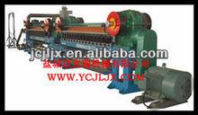China steel wool polishing pad machine