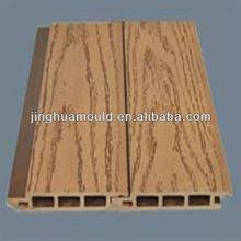 PE wood plastic slats mould