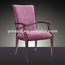 leather dining armchair