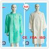 (CE,FDA,ISO) Nonwoven Lab Coat,non woven lab coat High Quality & Lowest Price!!