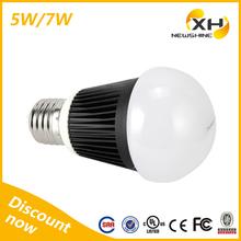 For House Using B22 E26 E27 Soft appearance 7W LED Bulb Light, Lampa 7W LED Bulbs E27