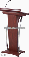 MAX K-027 Pulpit Podium with Mic/Dais Wooden Lectern Pulpit Lectern Podium