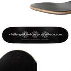 Fiber glass skateboard deck