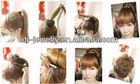 Hair Bun Ring Donut Hair Styling Maker Tool Hair Roller Black Retail &
