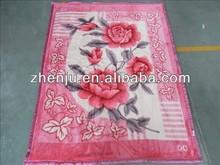 BEAUTIFUL design raschel blanket wholesale excellent quality