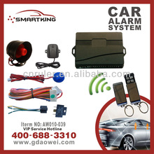 TOP SALES Anti-robbery Car Security Alarm One Way Car security alarm system transformer car alarm