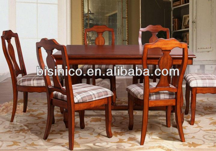 Ingl s americano muebles r sticos estilo comedor juego de muebles de cocina mesa y sillas Muebles estilo country