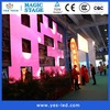 full color Polymer nanotechnology curving led display panel High refresh rate