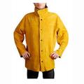 Aw2130 d'or de soudeur en cuir veste