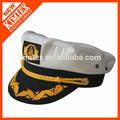 personalizado clássico capitão chapéu de marinheiro