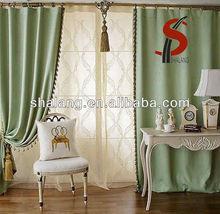 Hot-sale fashion Plain T/C&Linen window Curtain