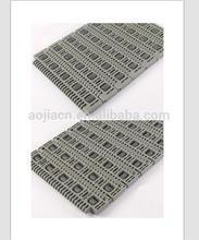 400 series Lateral Pulley Belt, roller modular belt for box transfer