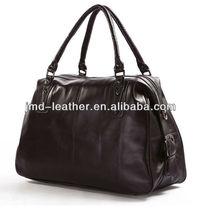 7071C Genuine Vintage Leather Unisex Coffee-Brown Handbag Tote Travel Bag