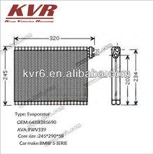 Aluminium evaporator for BMW 5-SERIE OE 64118385690