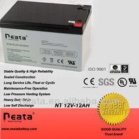 solar power system 12v12ah lead-acid rechargeable battery