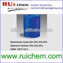 Hydrazine Hydrate 55% 50% 60% 24% 35% N2H4.H2O cas 10217-52-4 7803-57-8
