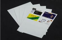 PVC sheets for inkjet printing