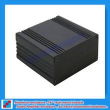 metal junction box / aluminum extrusion enclosure /aluminum box for pcb board 82.8x28.8x80 mm /3.26''x1.13'' x 3.15 ''(wxhxl)