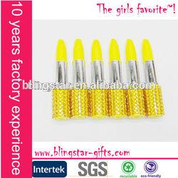 fashion promotional lipstick pen rhinestone lipstick pens