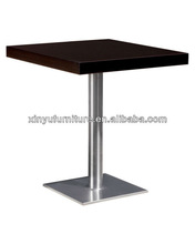 wood top restaurant and cafe cocktail table XT6881