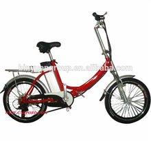 Cheap folding electric bike Electric bicycle motor golden motor TDN-04