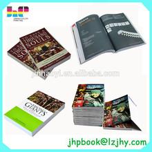 China Softcover Paperback Print Book Printer Full Color Paperback Book printing