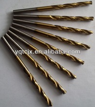 DIN 338 High Quality Straight Shank Twist Drill With Titanium Coated