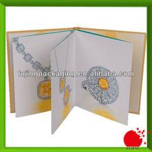 Jewelry collection casebound catalog printig