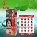 Saisi nueva esencia de la planta de henna semi- tinte permanente del pelo