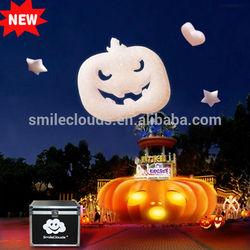 Newest artificial white foam Halloween pumpkin