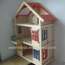 wooden mini furniture&wooden doll house, children gift