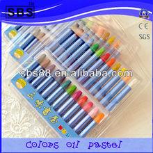 Kids drawing crayon color set