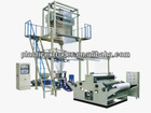 HDPE/LDPE Blown Film Extrusion Machine with Rotary-die head and Double Winder