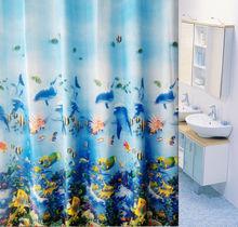 Home Goods Printed PEVA Shower Curtains