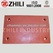 High Chrome (Cr20/Cr26) Cement Plant Sand-cast Lining Plates