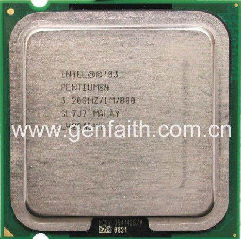 Intel Pentium 4 m Intel Pentium 4 Sl7j7 Cpu