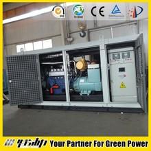 20-500 KW biogas powered generator, CNG/LPG/Methane gas as fuel