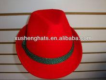 Wool felt children's fedora hats