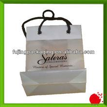 Luxury Art Paper Bag for wedding jewel